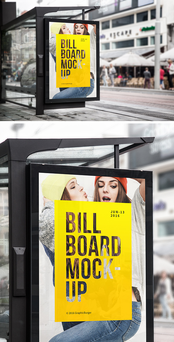 Free-Bus-Stop-Billboard-MockUp-For-Advertisement-600