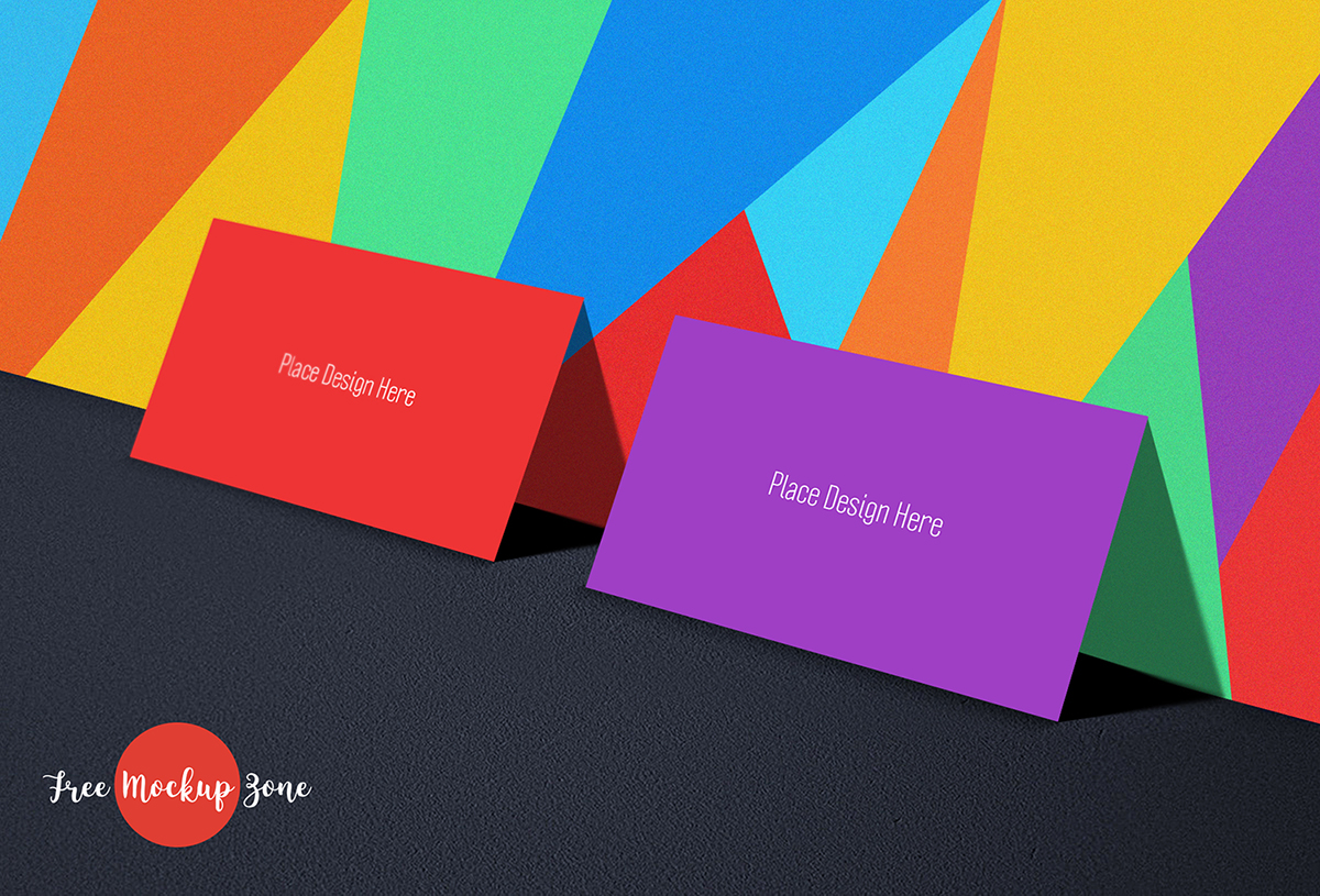 Free Tutti Frutti Business Card Mockup-300