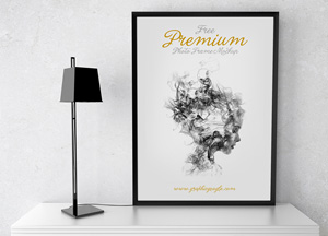 Free Psd Premium Photo Frame Mockup