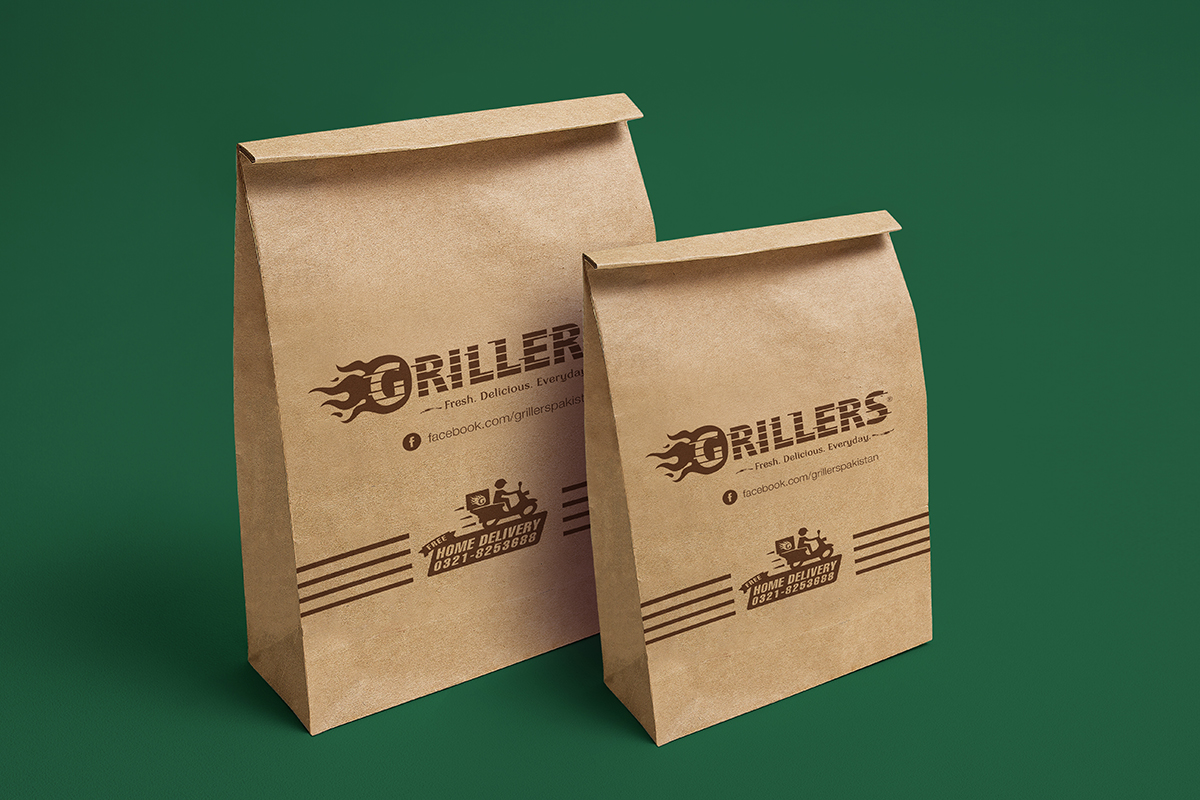 Coffee Tin Tie Bag Packaging Mock-up PSD