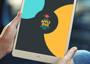 Free Apple iPad Mock-up Psd