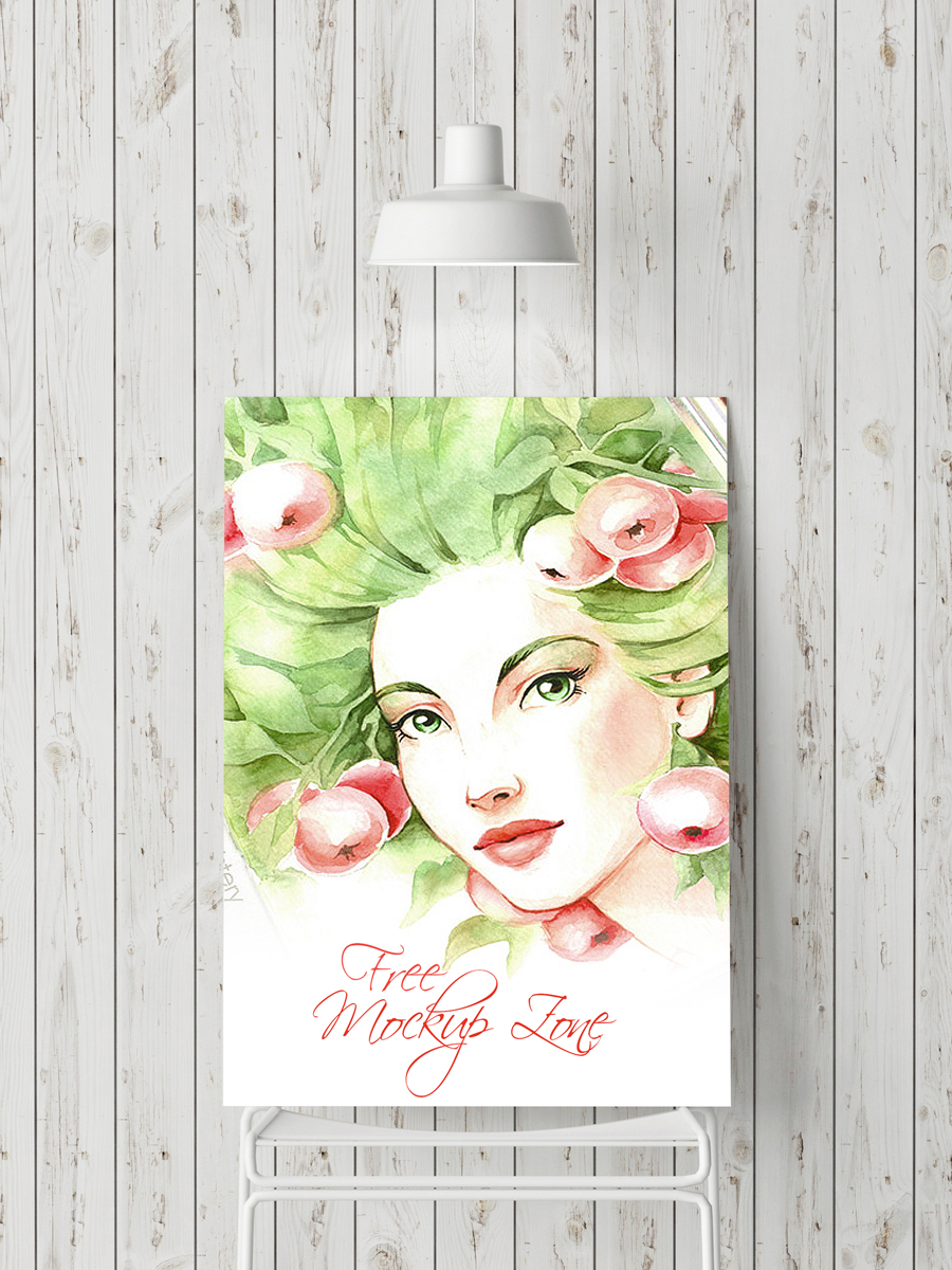 Free-Indoor-Poster--Mock-up-For-Promotion-and-Advertisement
