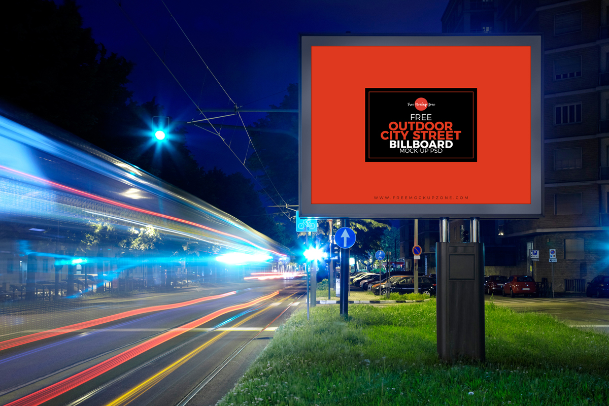 Free-Outdoor-City-Street-Billboard-Mock-up-For-Advertisement