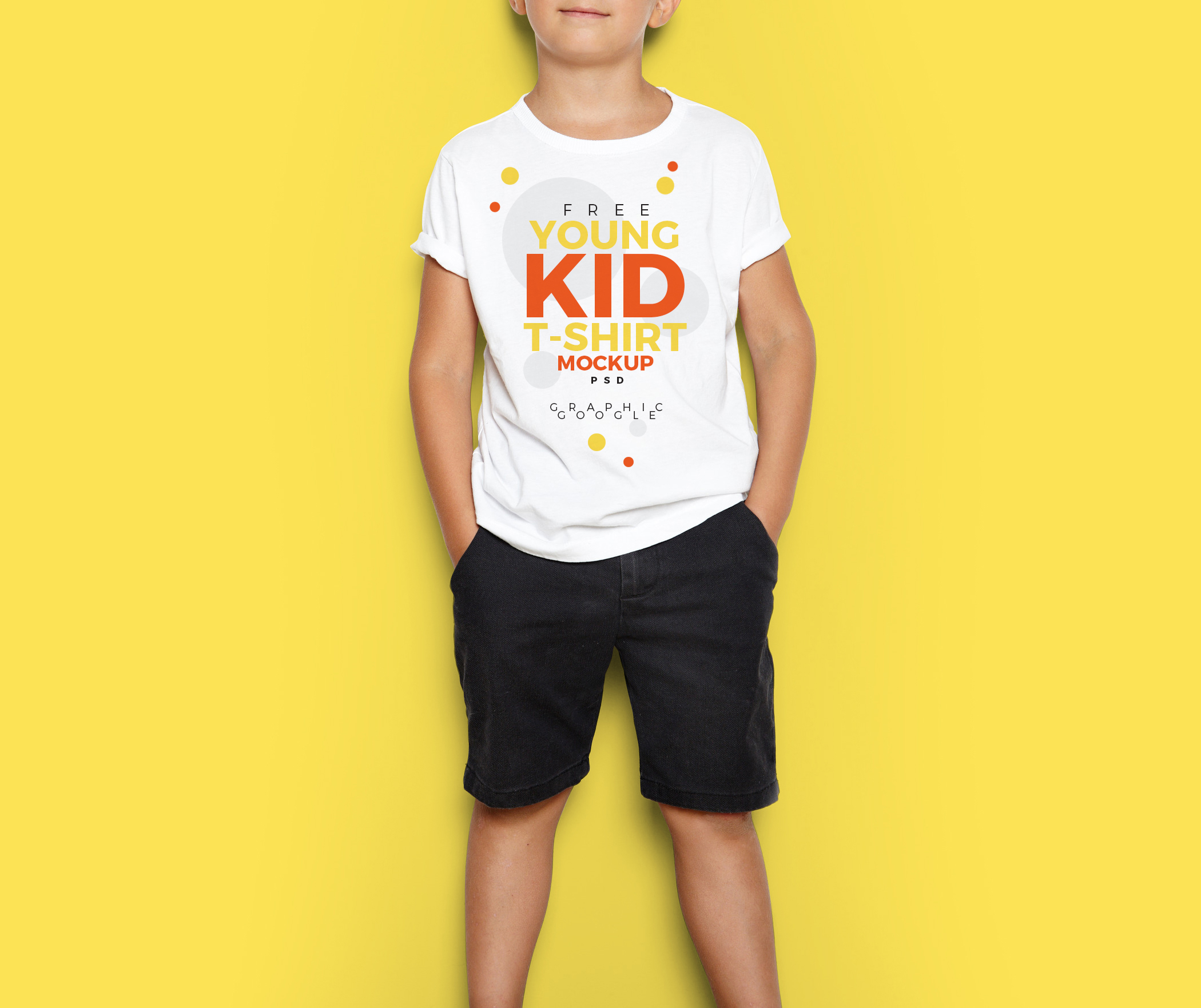 Free-Cool-Young-Kid-T-Shirt-Mock-Up-PSD