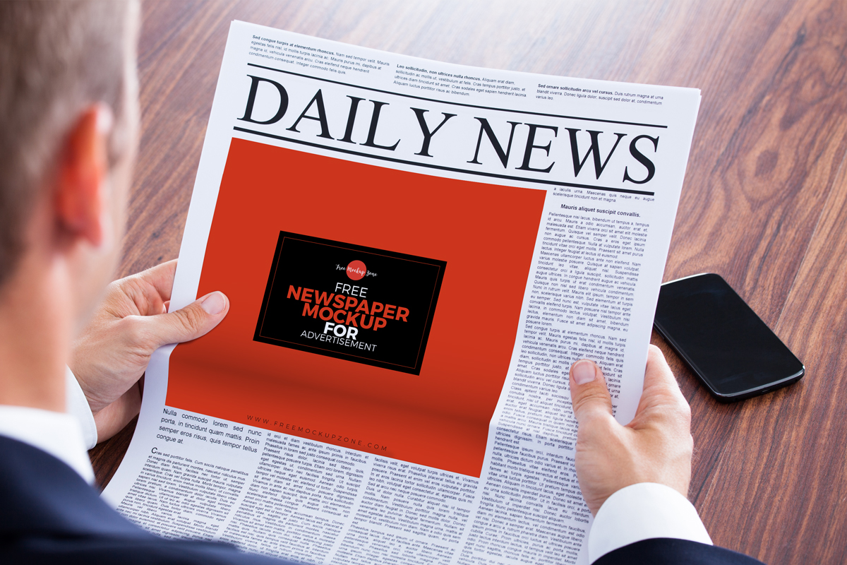 Free-Newspaper-MockUp-For-Advertisement