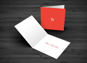 Free Greeting Card MockUp PSD Template