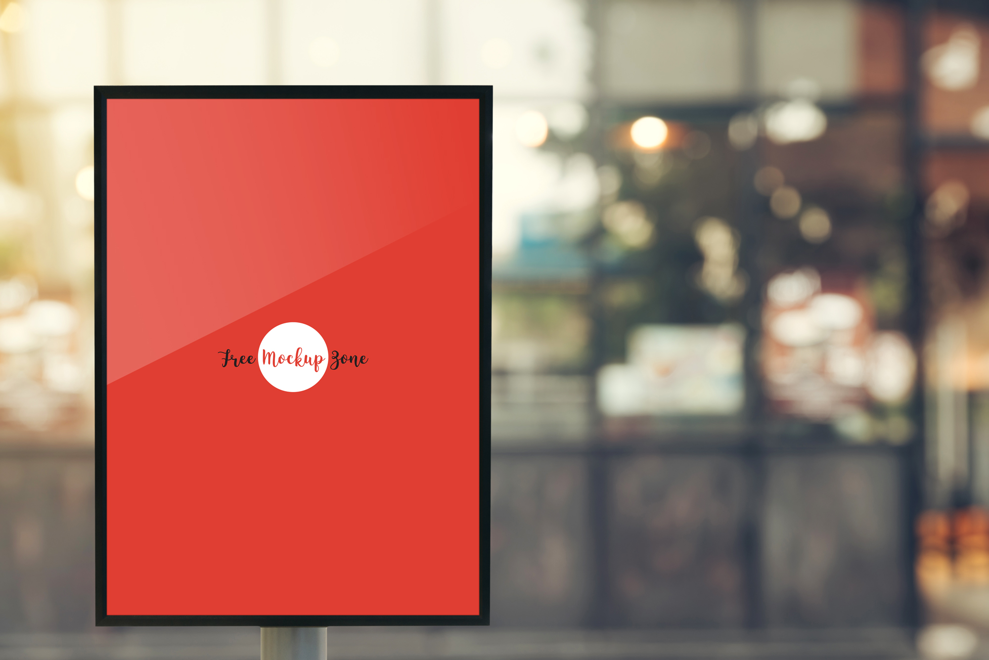 Free-Outdoor-Vertical-Poster-MockUp