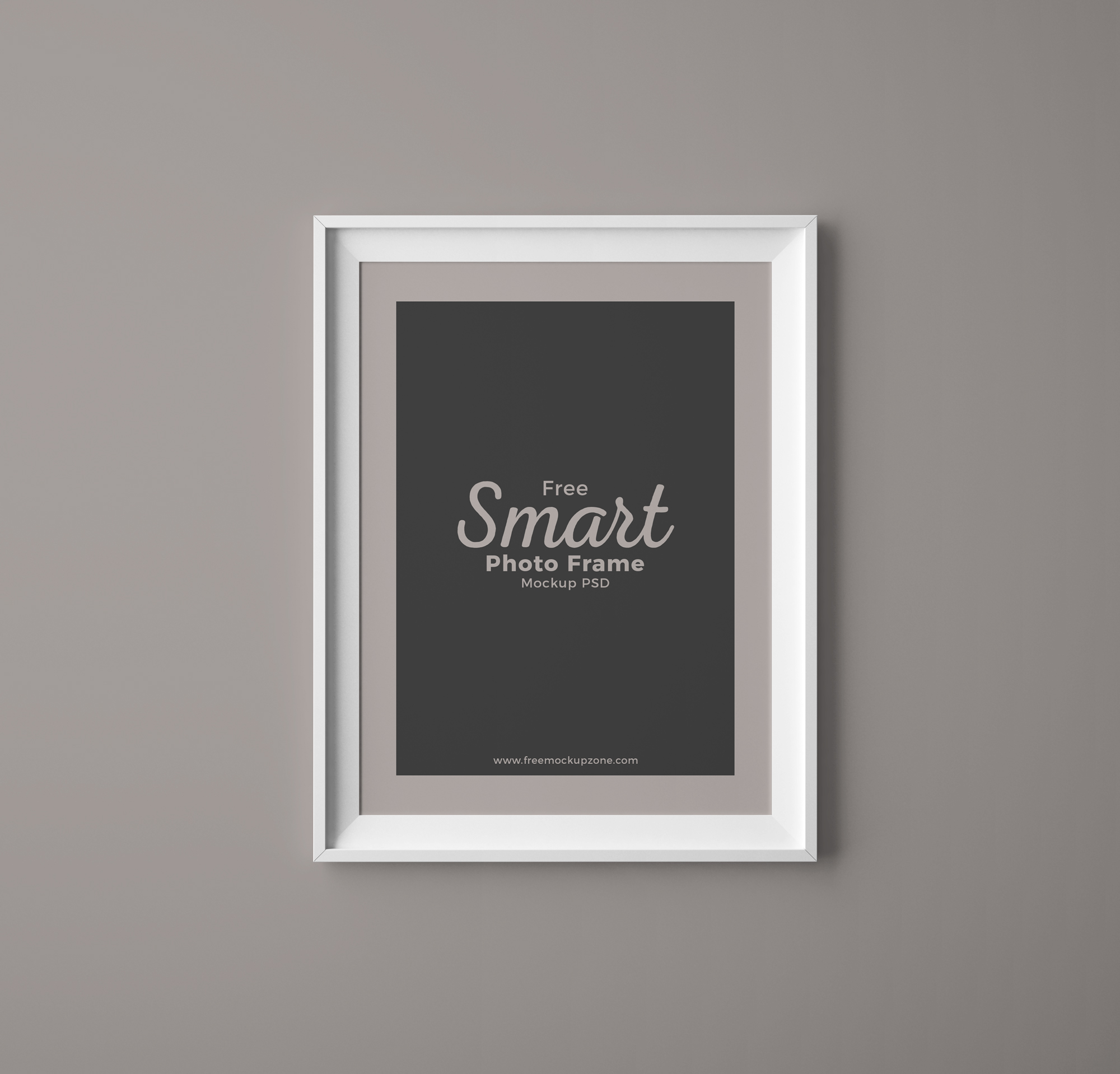 free smart photo frame mockup psd. Black Bedroom Furniture Sets. Home Design Ideas