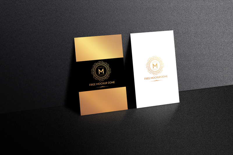 Free-Standing-Display-Business-Card-Mockup