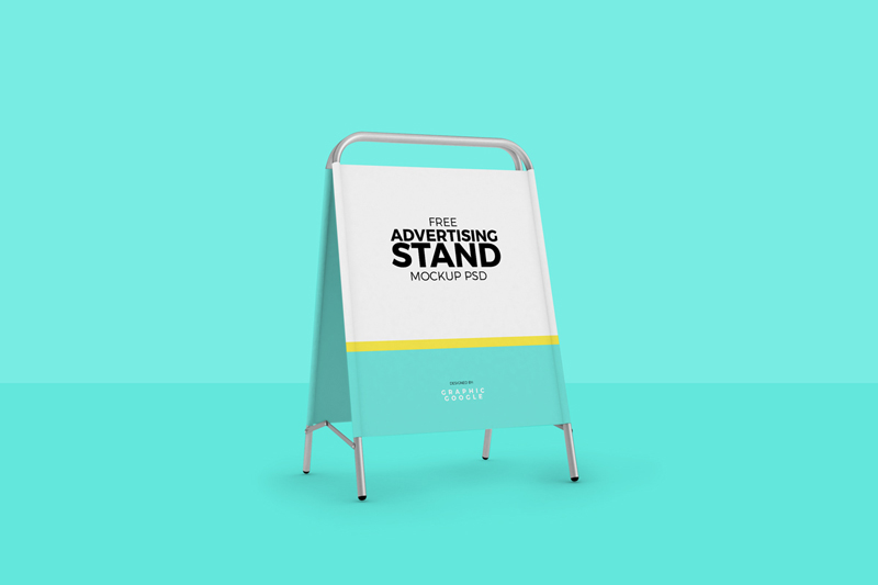 Advertising-Stand-Mockup