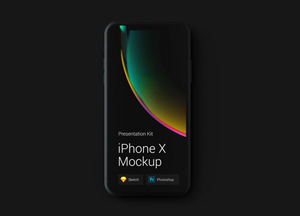 20 Free iPhone X Mockup Templates & Resources