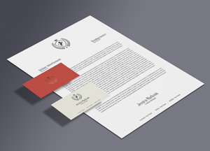 Free Classic Stationery Branding Mockup