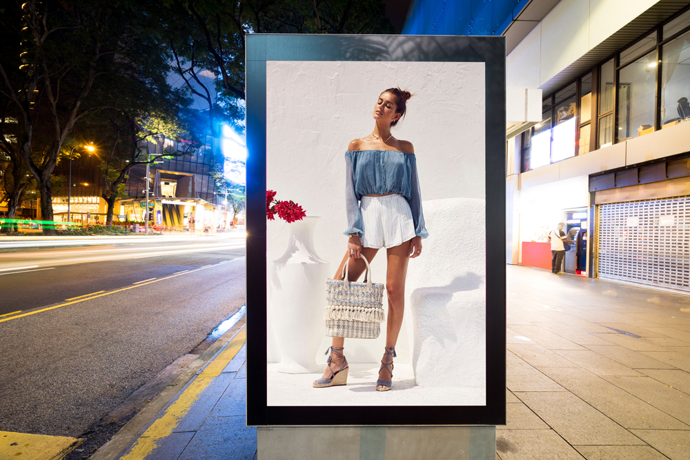 Free-City-Street-Advertisement-Vertical-Billboard-Mockup
