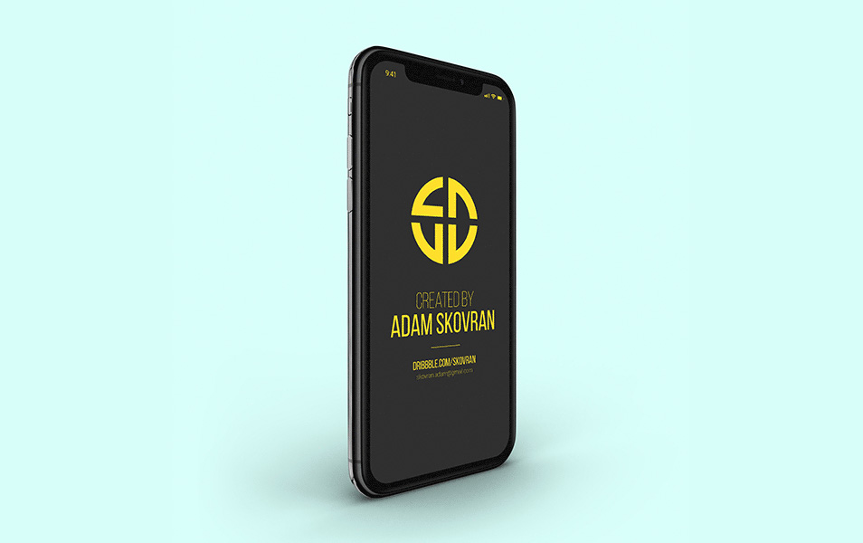 Free-iPhone-X-Black-Mockups
