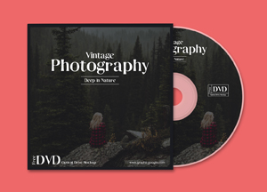 Free DVD Disk Cover Mockup