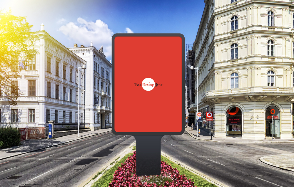 Free-Vertical-Outdoor-Advertisement-Billboard-PSD-Mockup