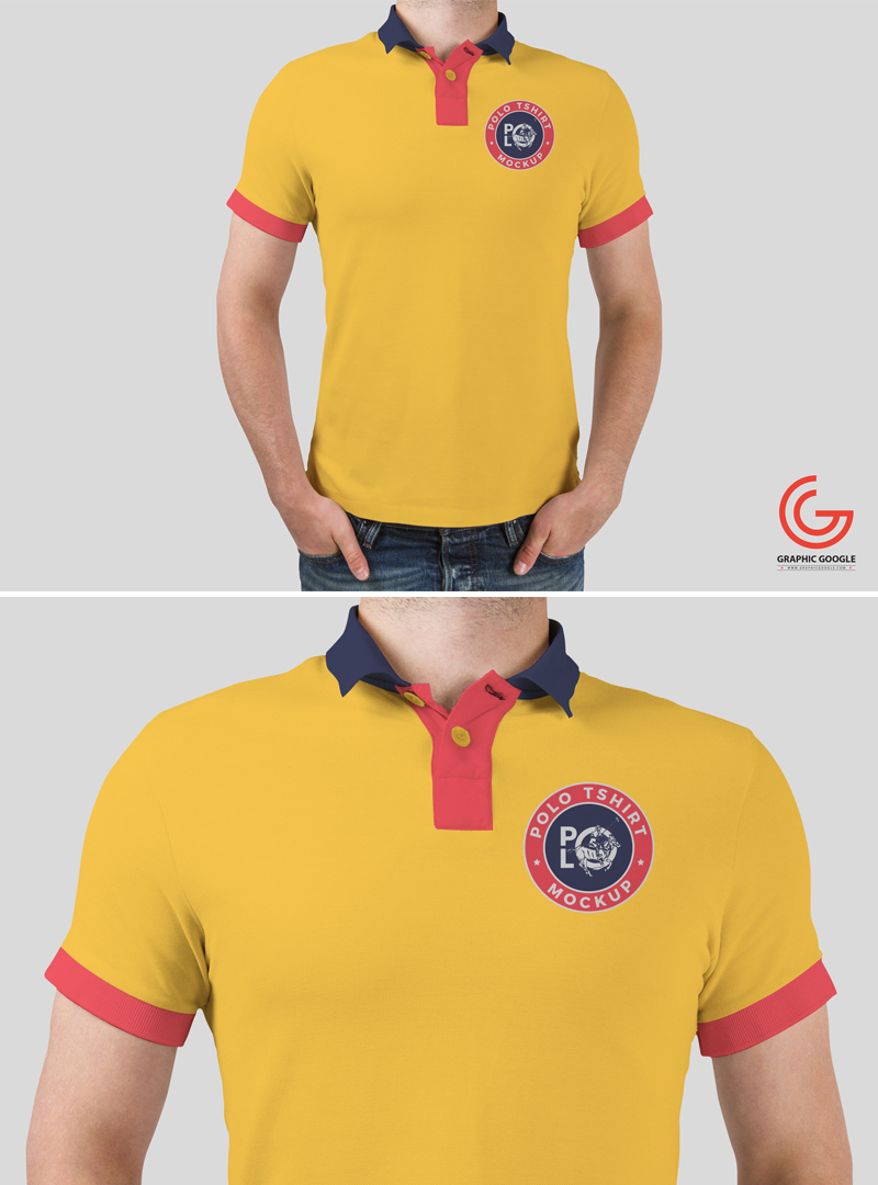 Free-Young-Man-Wearing-Polo-T-Shirt-PSD-Mockup