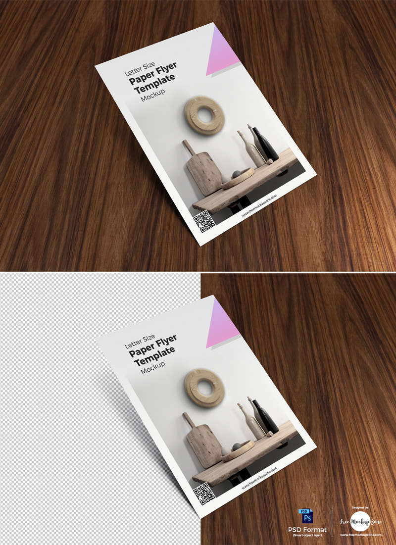 Free-Letter-Size-Paper-Flyer-Template-on-Wood-Mockup-2018