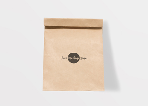 Free Brown Paper Burger Packaging Mockup 2018