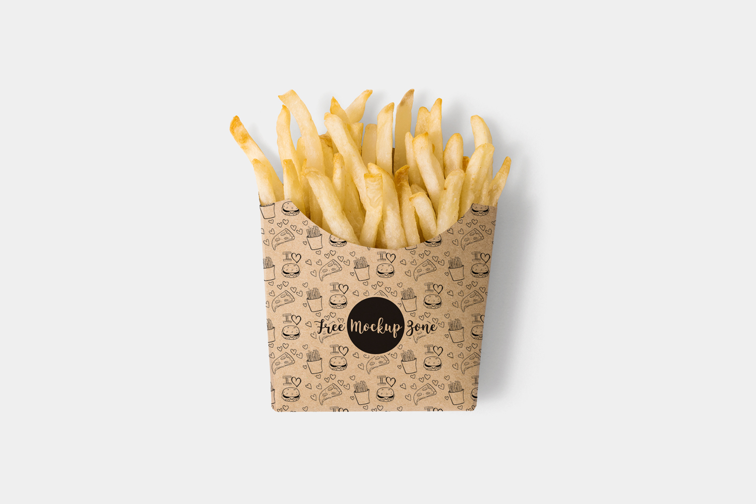Free-Brown-Paper-French-Fries-Box-Mockup-PSD-2018