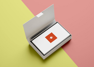 Free Business Cards in Box Mockup PSD 2018