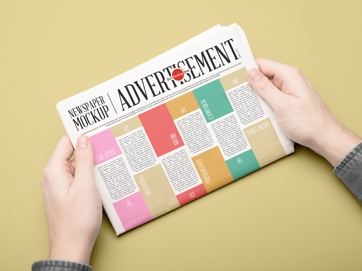 Free-Newspaper-Mockup-PSD-For-Advertisement-2018