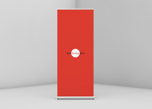 Free Roll up Mockup PSD For Branding 2018