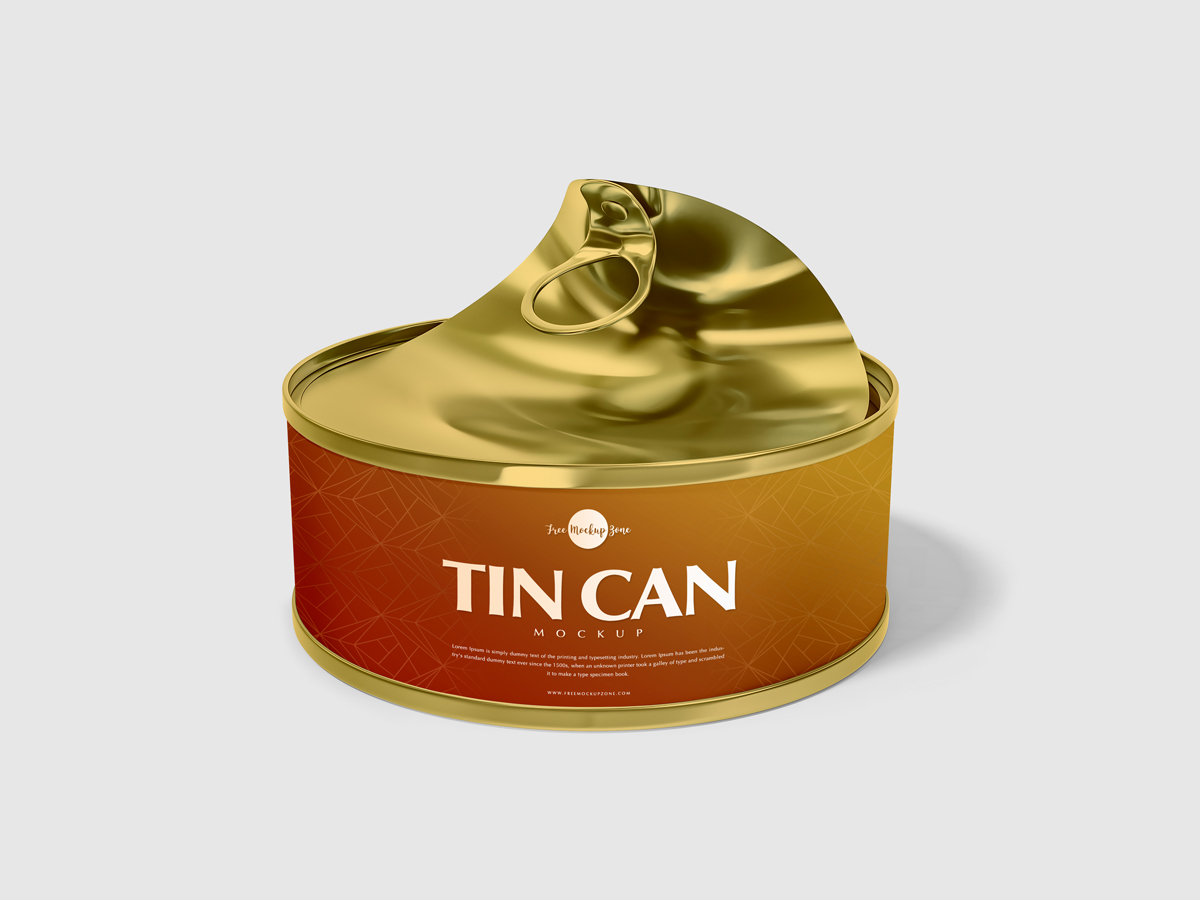 free open tin can mockup psd for presentation 2018 free mockup zone