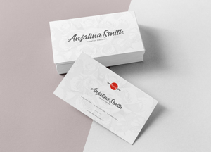 Free Brand Business Cards Mockup PSD For Presentation