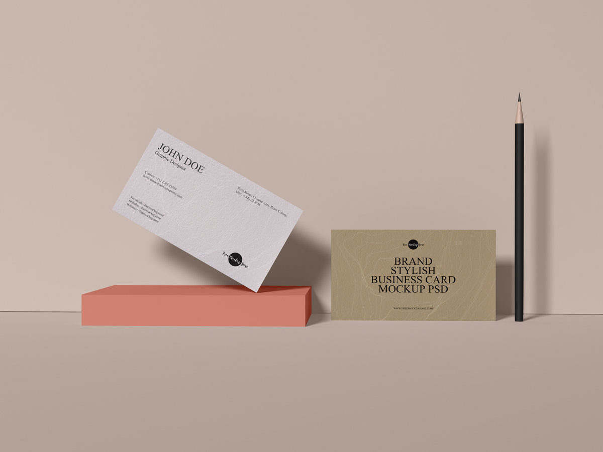 Free-Brand-Stylish-Business-Card-Mockup-PSD-2019