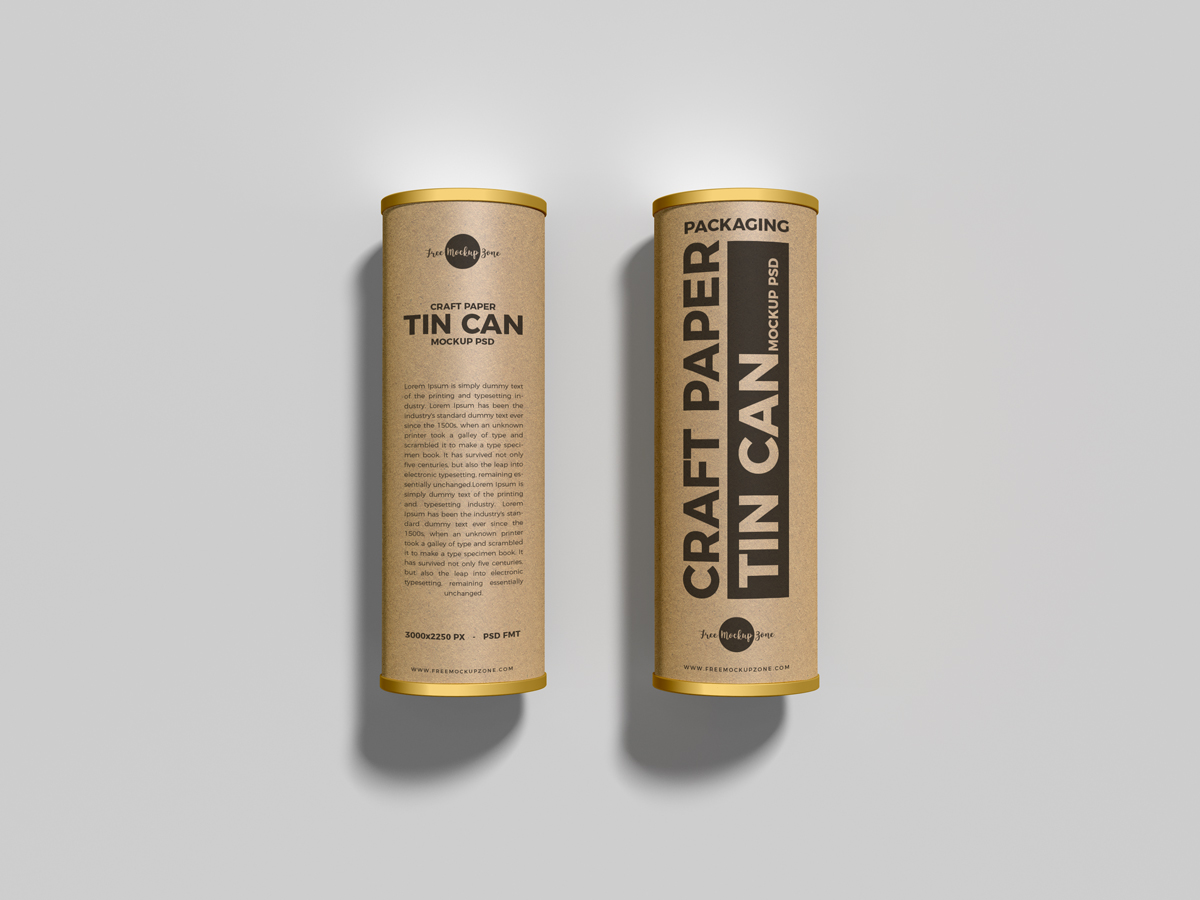 Free-Packaging-Craft-Paper-Tin-Cans-Mockup-PSD-Vol-1