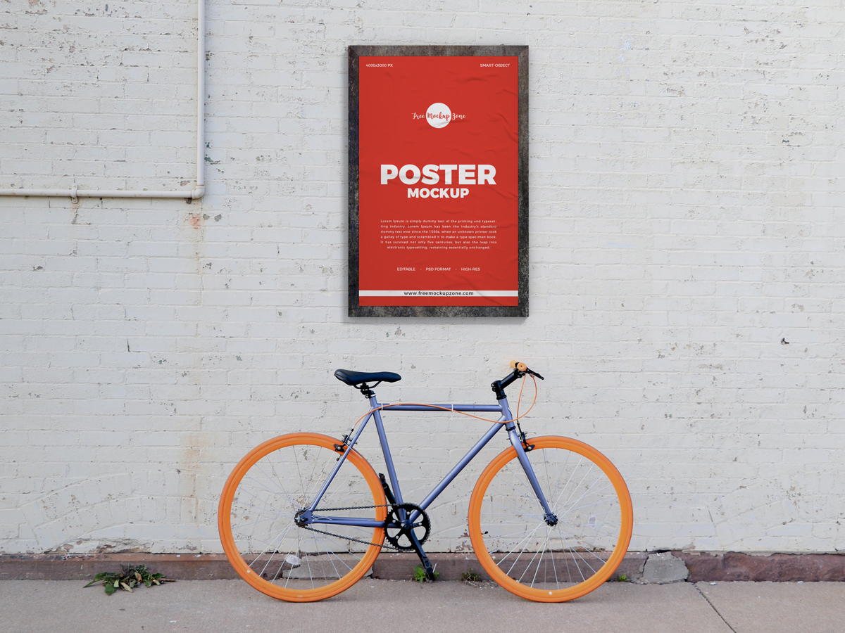Free-Street-Wall-Poster-Mockup-Design-For-Advertisement-2019-700