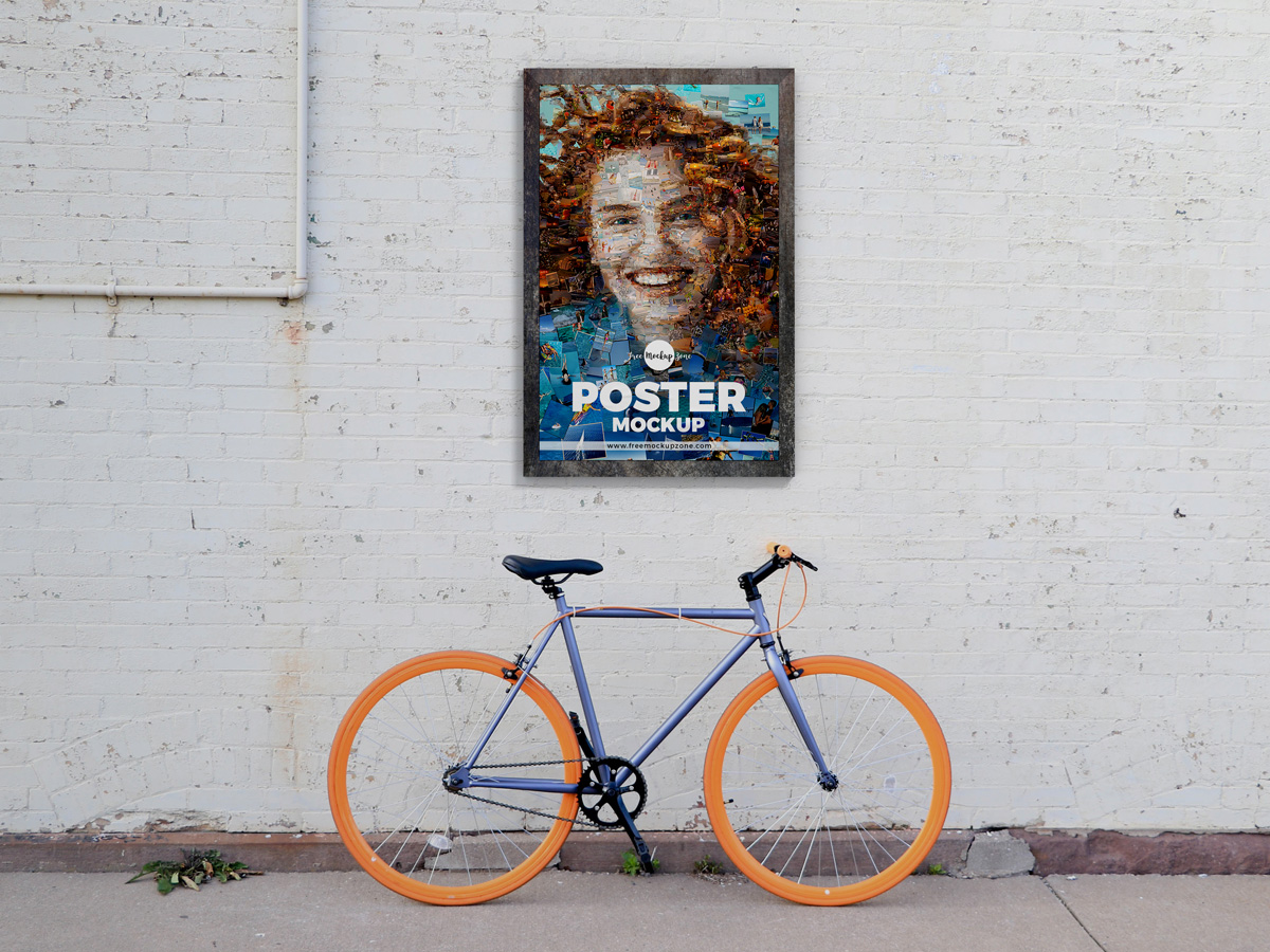 Free-Street-Wall-Poster-Mockup-Design-For-Advertisement-2019