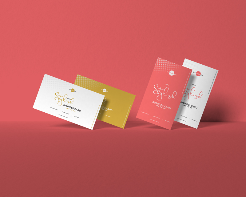 Free-Brand-Stylish-Business-Card-Mockup