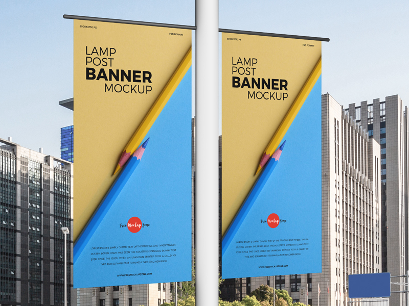 Free-Lamp-Post-Banners-Mockup-600