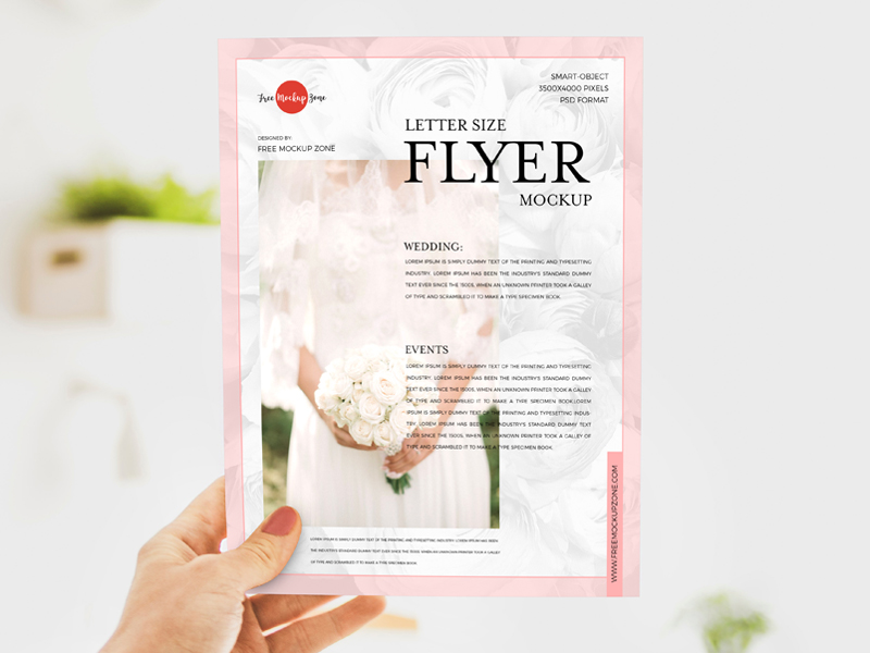 Free-Girl-Showing-Letter-Size-Flyer-Mockup-600