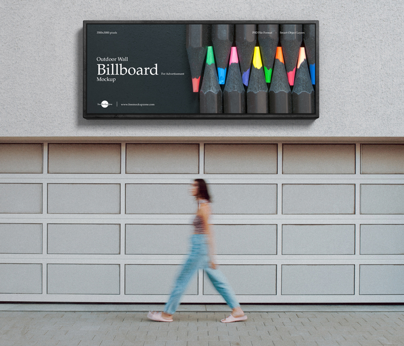 Free-Outdoor-Wall-Billboard-Mockup-For-Advertisement