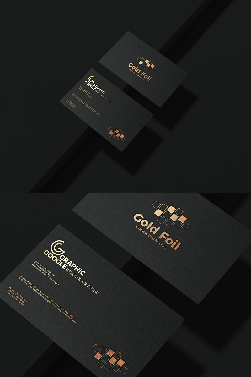 Free-PSD-Gold-Foil-Business-Card-Mockup