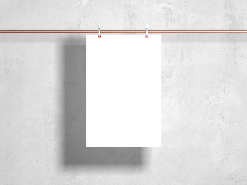 Free-Modern-Clipped-Hanging-Poster-Mockup-600