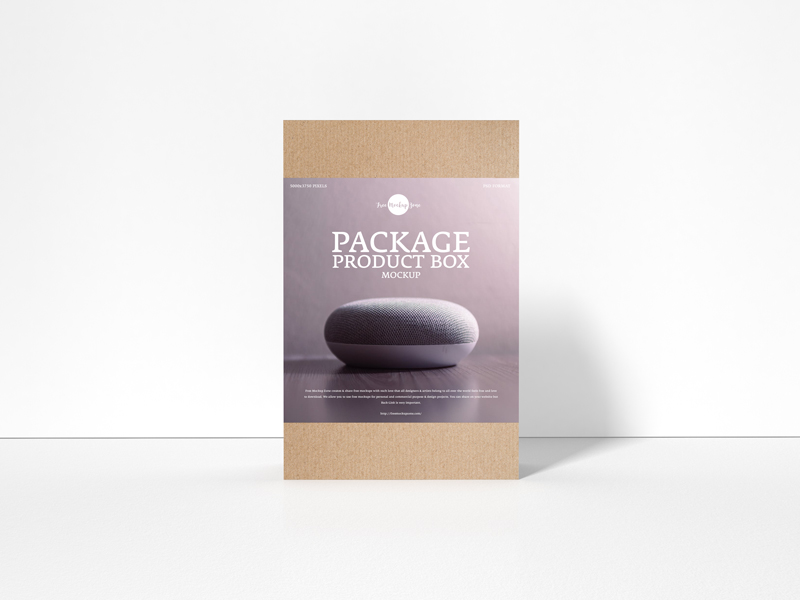 Free-Package-Product-Box-Mockup