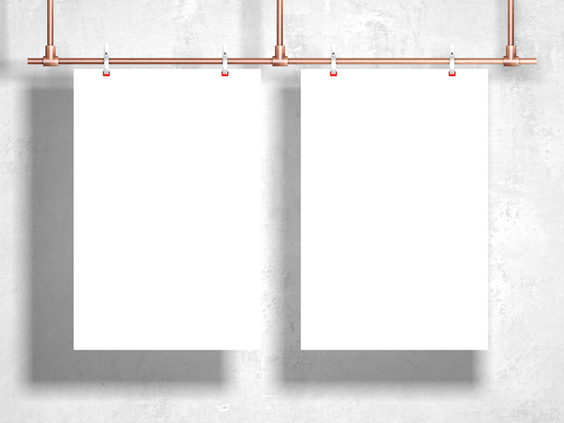 Free-Modern-Clipped-Hanging-Poster-Mockup-Vol-2-600