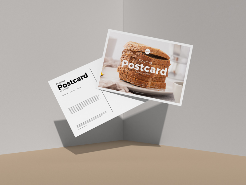 Free-Floating-Postcard-Mockup-PSD