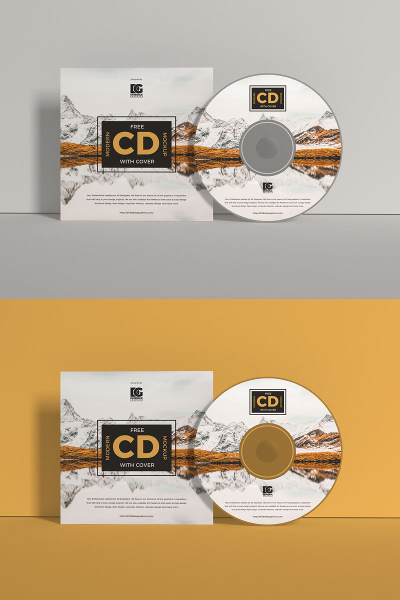 Free-Front-View-Branding-Cd-Mockup-With-Cover