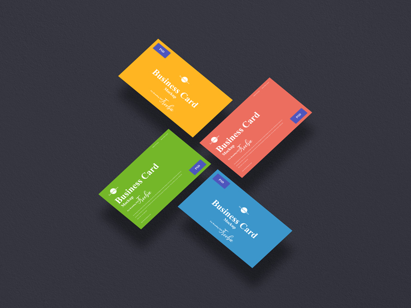 Free-Business-Card-Mockup-PSD-For-Branding-2020-600