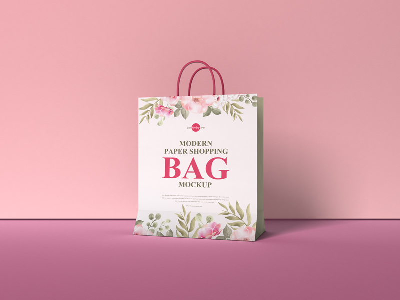 Free-Modern-Paper-Shopping-Bag-Mockup