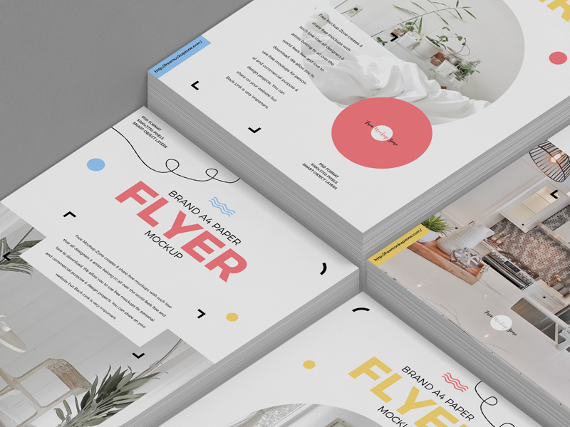 Free-Brand-A4-Paper-Flyer-Mockup-1