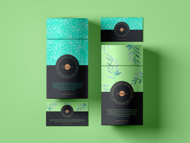 Free-Business-Cards-With-Paper-Tube-Box-Mockup-3