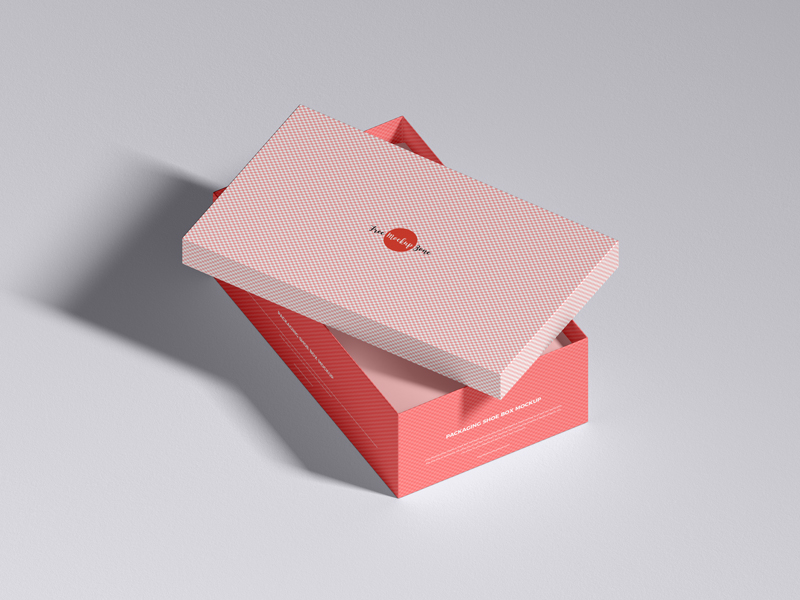 Free-Packaging-Shoe-Box-Mockup