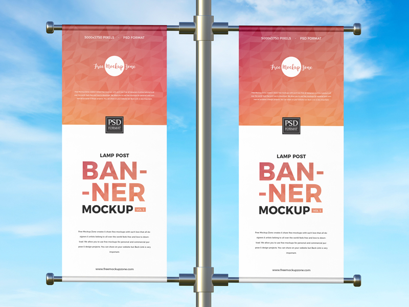 Free-Advertising-Lamp-Post-Banner-Mockup-600