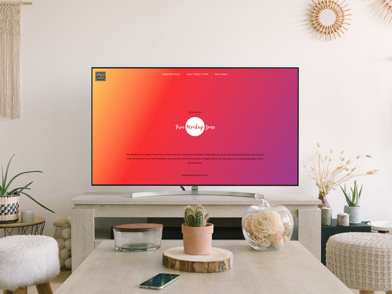 Free-Flat-TV-Screen-Mockup